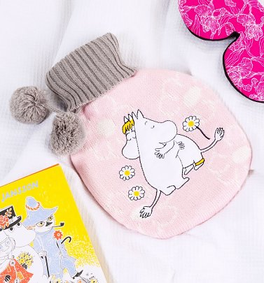 Moomin Love Hot Water Bottle from House of Disaster