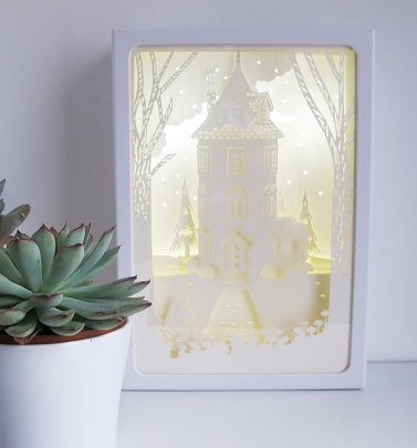 Moomin Moominhouse Shadow Box Light from House of Disaster