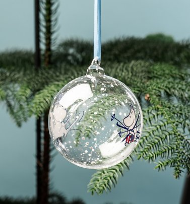 Moomin Moominpapa and Moominmamma Christmas Bauble