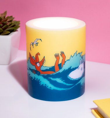Moomin Our Sea 12cm Candle