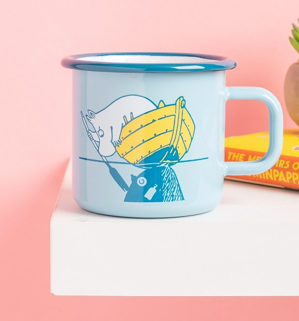 Moomin Our Sea Enamel Mug