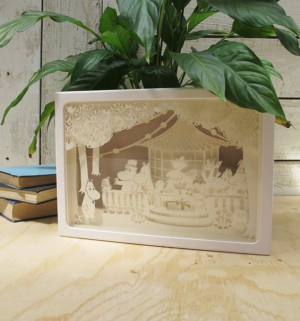 Moomin Party Shadow Box Light from House of Disaster