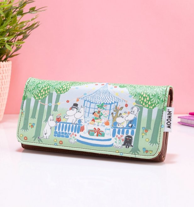 Moomin Party Wallet from House Of Disaster