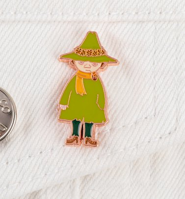 Moomin Snufkin Enamel Pin Badge