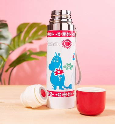 Moomin Spring Thermal Flask from House of Disaster