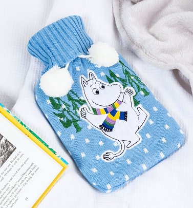 Moomin Winter Hot Water Bottle from House of Disaster