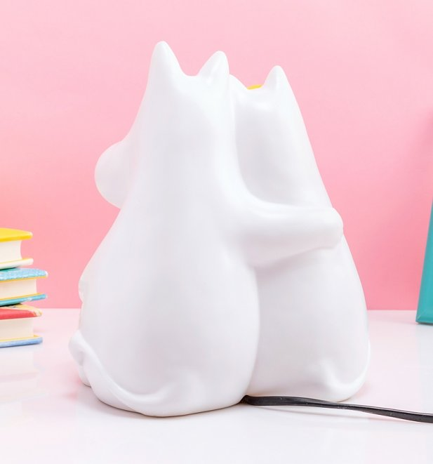 Moomin and Snorkmaiden Love Table Lamp from House Of Disaster