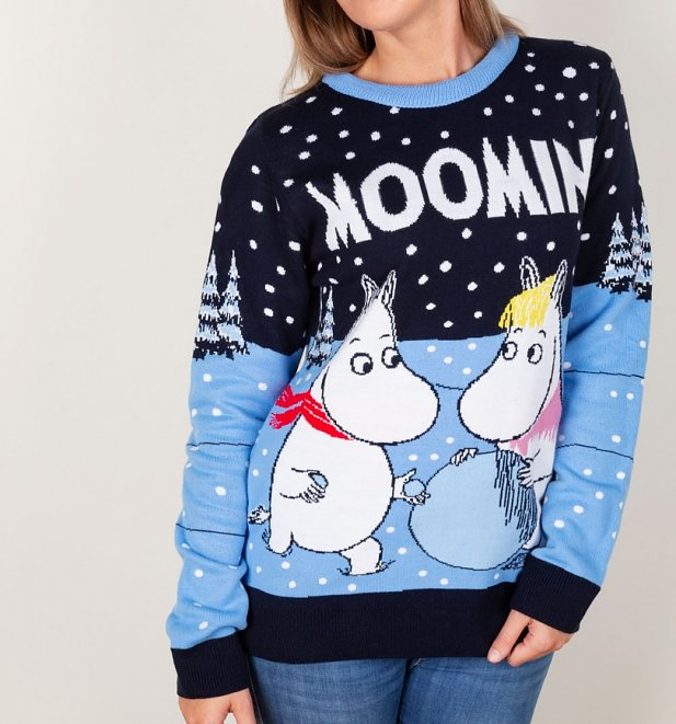 Moomins Christmas Jumper