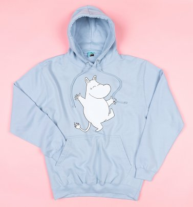 AWAITING APPROVAL PPS SENT 26/5 Moomins Dance Blue Hoodie