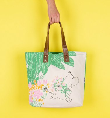 Moomins Flowers Shopping Bag from Disaster Designs