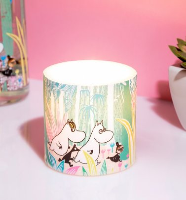 Moomins In The Jungle 8cm Candle