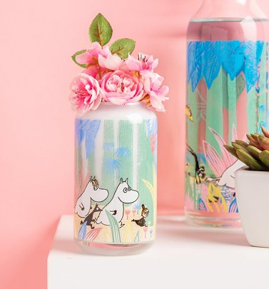 Moomins In The Jungle Vase