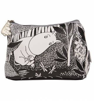 Moomins Midwinter Monochrome Make Up Bag from Disaster Designs