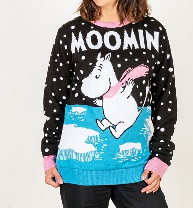 Moomins Winter Knitted Christmas Jumper