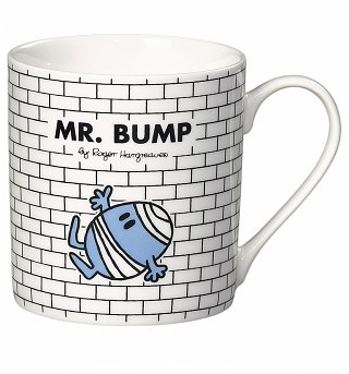 Mr Bump Mr Men Boxed Mug