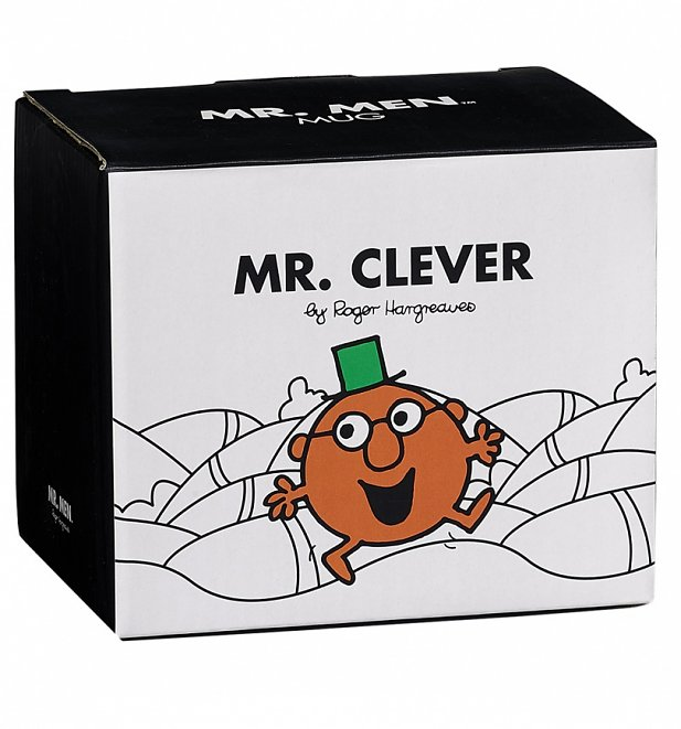 Mr Clever Mr Men Boxed Mug