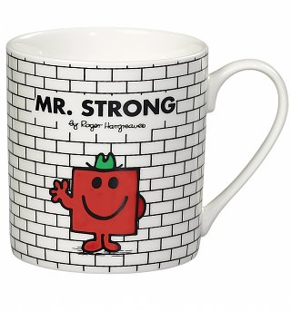 Mr Strong Mr Men Boxed Mug