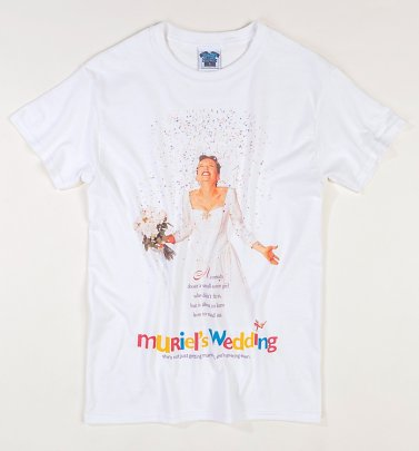 Muriel's Wedding Movie Poster White T-Shirt