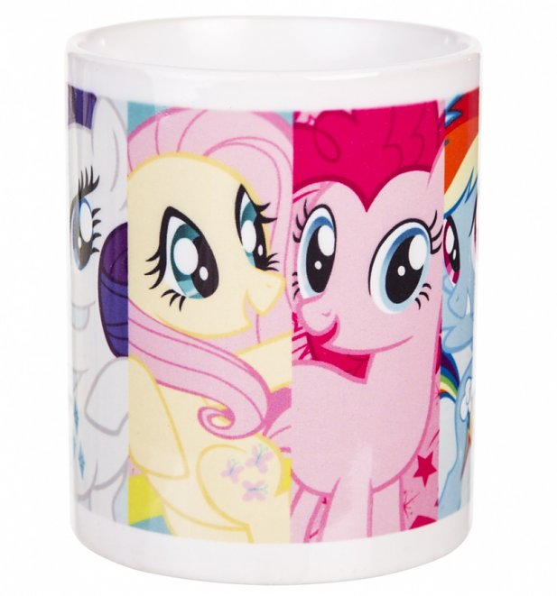 My Little Pony Friendship Is Magic Panels Mug