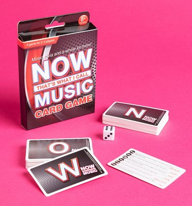 NOW That's What I Call Music Card Game