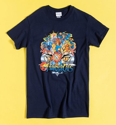 Navy Thundercats Action Shot T-Shirt