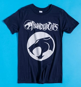 Dark Navy Thundercats Logo T-Shirt