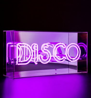 Neon DISCO Acrylic Box Light