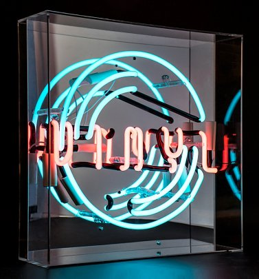 Neon Vinyl Acrylic Box Light