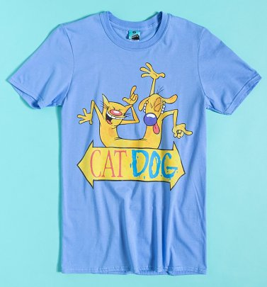 Nickelodeon CatDog Blue T-Shirt