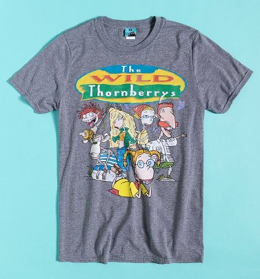 Nickelodeon The Wild Thornberrys Grey Marl T-Shirt