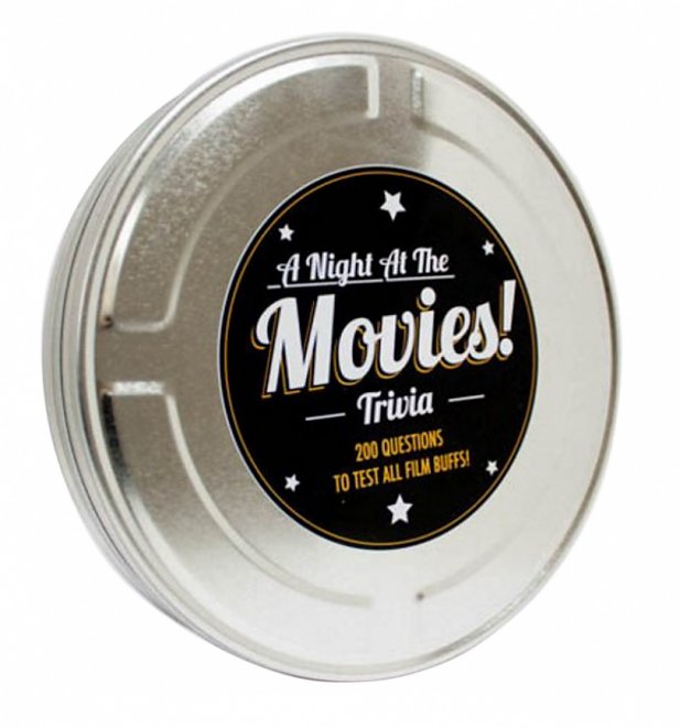 Night At The Movies Trivia Tin