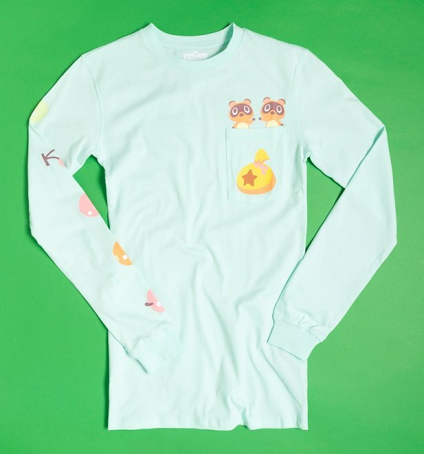 Nintendo Animal Crossing Timmy and Tommy Long Sleeve T-Shirt from Cakeworthy
