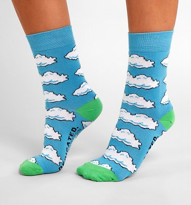Nintendo Clouds Organic Cotton Socks from Dedicated