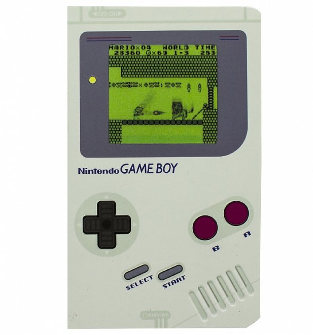 Nintendo Game Boy Notebook