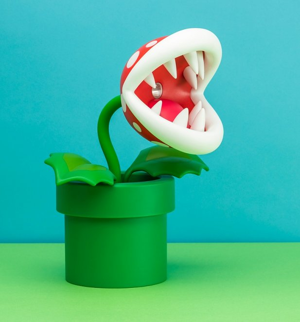 Nintendo Piranha Posable Lamp