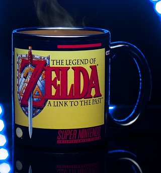 Nintendo SNES The Legend Of Zelda Heat Change Mug