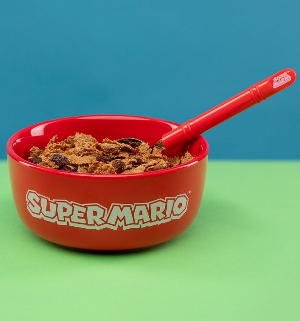Nintendo Super Mario Breakfast Set