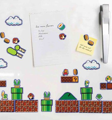 Nintendo Super Mario Brothers Fridge Magnets