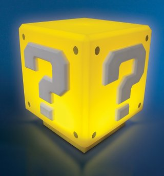 Nintendo Super Mario Brothers Mini Question Block Light