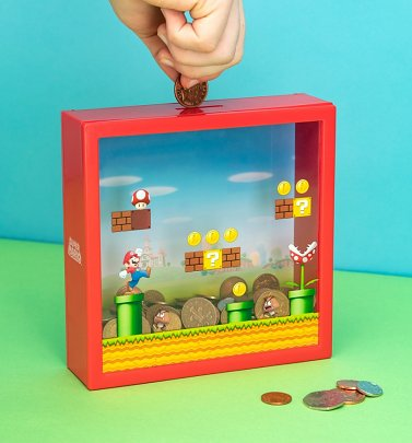 Nintendo Super Mario Scene Money Box