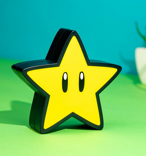 Nintendo Super Mario Star Light With Sounds