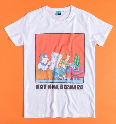 Not Now Bernard Mini Me Adult T-Shirt