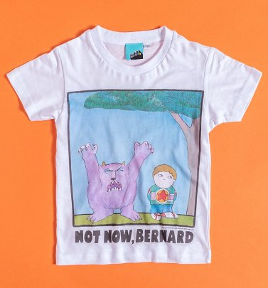 Not Now Bernard Mini Me Kids T-Shirt