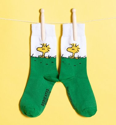 Organic Peanuts Woodstock Socks from Dedicated