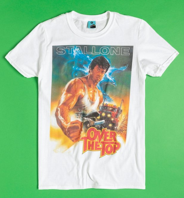 Over The Top Movie Poster White T-Shirt