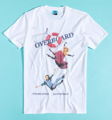 Overboard Movie Poster White T-Shirt
