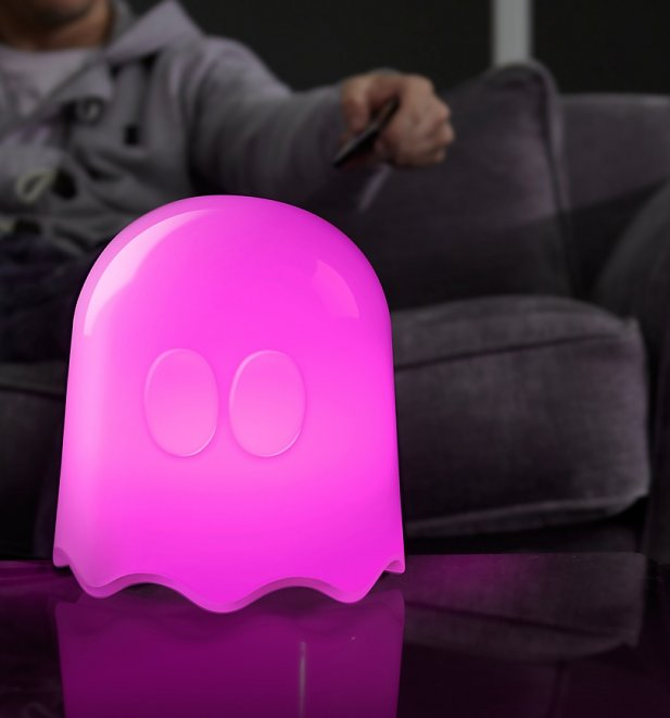Pac-Man Colour Changing Ghost Lamp