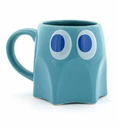 Pac-Man Inky Ghost Mug