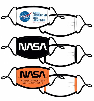 Pack of Three NASA Face Masks