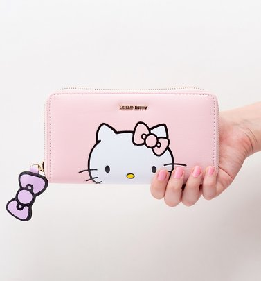 Pastel Pink Hello Kitty Wallet from Difuzed